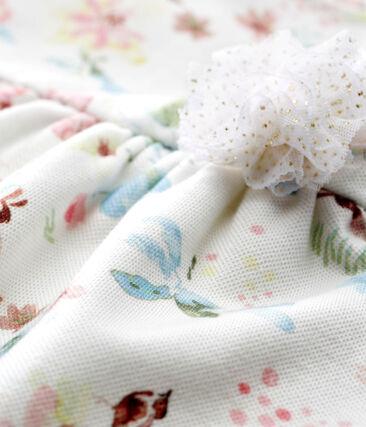 Robe manches courtes imprimée bébé fille