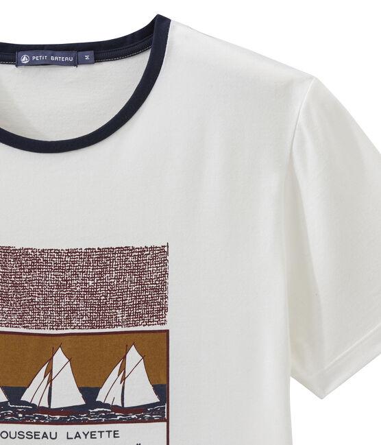 Tee-shirt MC unisex blanc Marshmallow