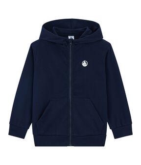 Sweat shirt enfant bleu Smoking