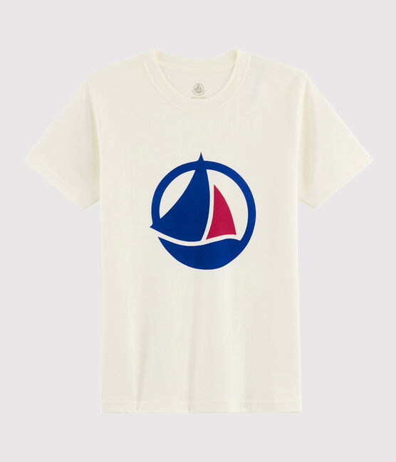 T-shirt Made in France Femme/Homme blanc Marshmallow