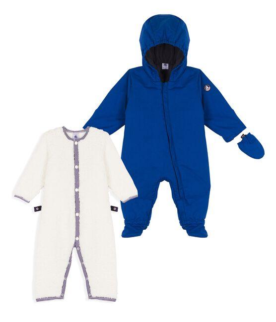 Combipilote 3 en 1 bébé garçon bleu Limoges
