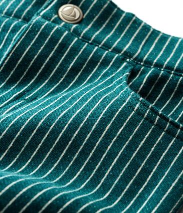 Pantalon en maille rayée bébé garçon