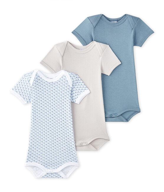 Lot de 3 bodies bébé garçon manches courtes lot .