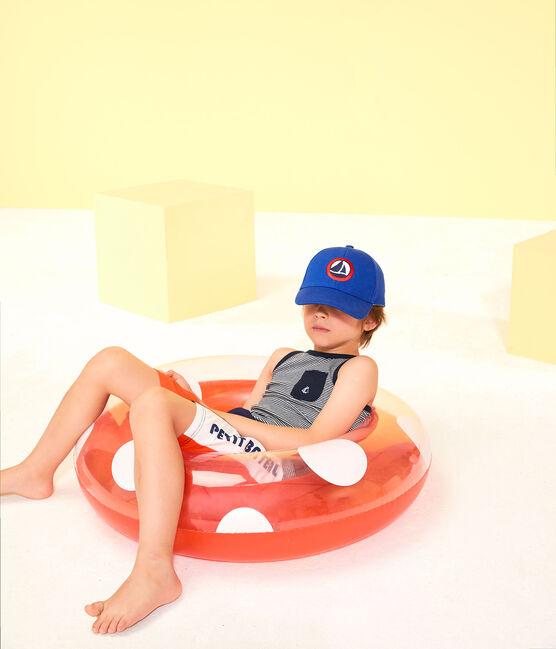 Casquette en twill enfant garçon bleu Surf