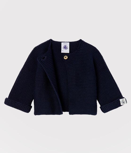 Cardigan bébé en tricot 100% coton SMOKING