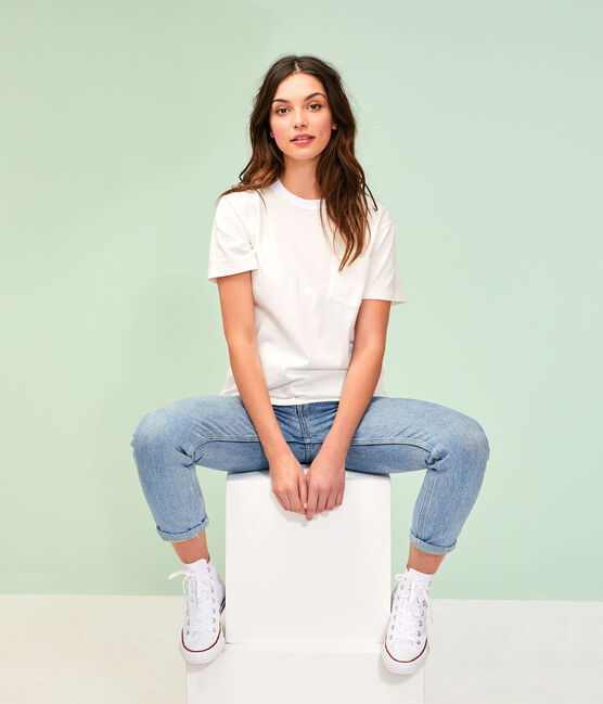Tee shirt unisexe blanc Marshmallow
