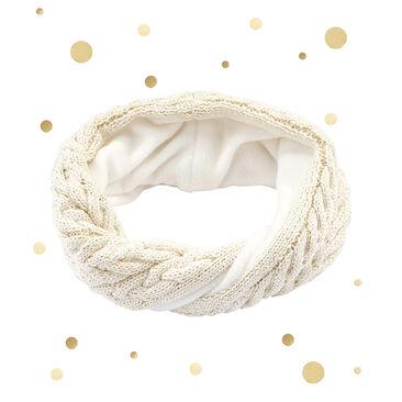 Snood enfant en laine mélangée