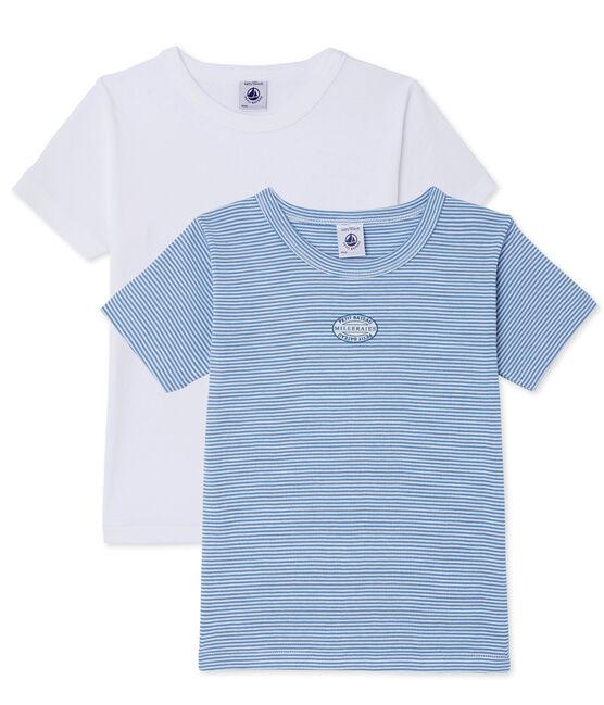Lot de 2 t-shirts garçon lot .