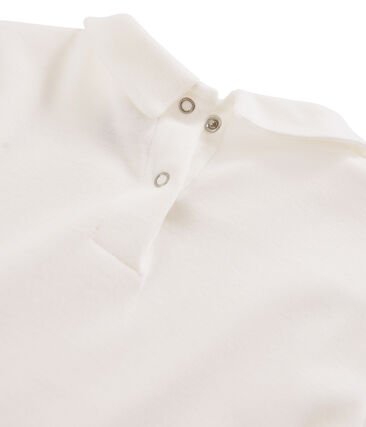 T-shirt fille à col claudine