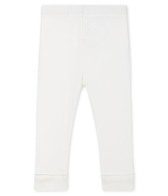 Legging bébé fille-garçon blanc Marshmallow