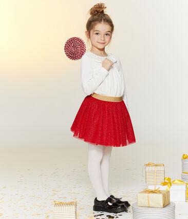 Jupe en tulle enfant fille rouge Terkuit / jaune Or