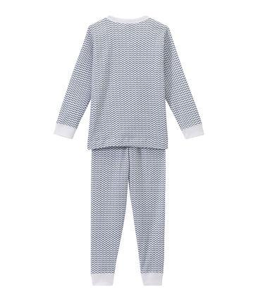 Pyjama garçon imprimé graphique