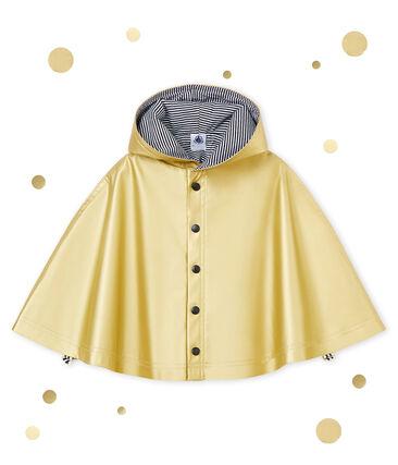 Cape de pluie déperlante bébé mixte jaune Dore