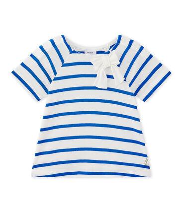 T-shirt bébé fille manches longues rayé