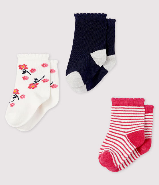 Lot de 3 paires de chaussettes bébé lot .