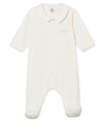 Dors bien bébé mixte en velours de coton uni