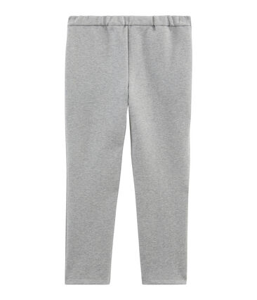 Pantalon maille enfant fille gris Subway