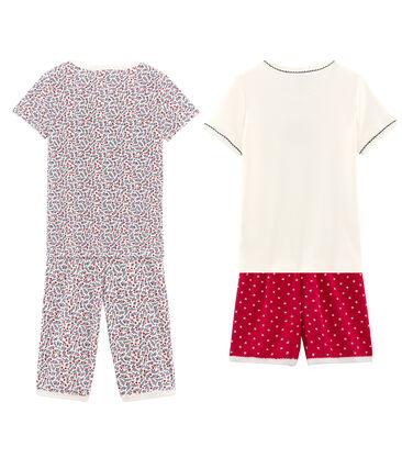 Lot de 2 pyjamas fille