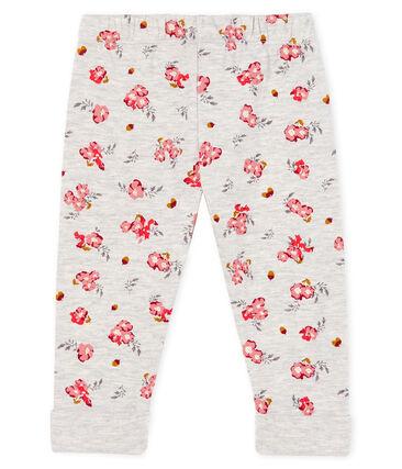 Pantalon en tubique imprimé bébé fille
