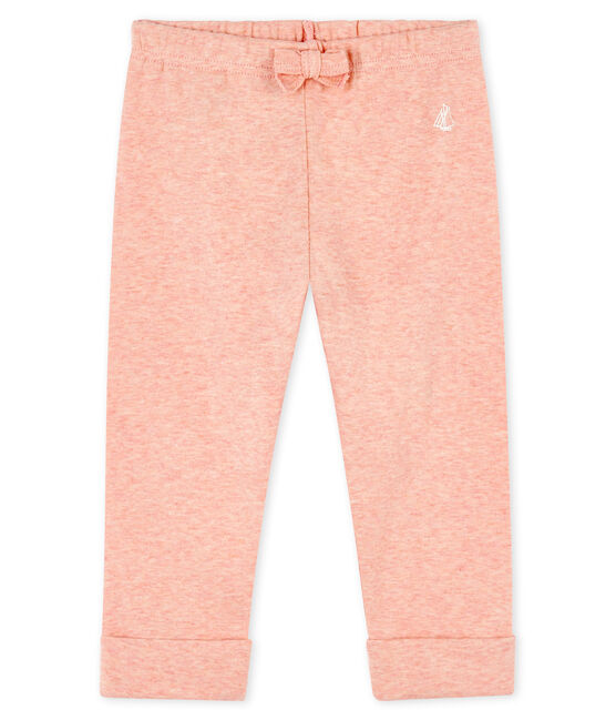 Pantalon bébé fille -garçon en maille rose Aster Chine