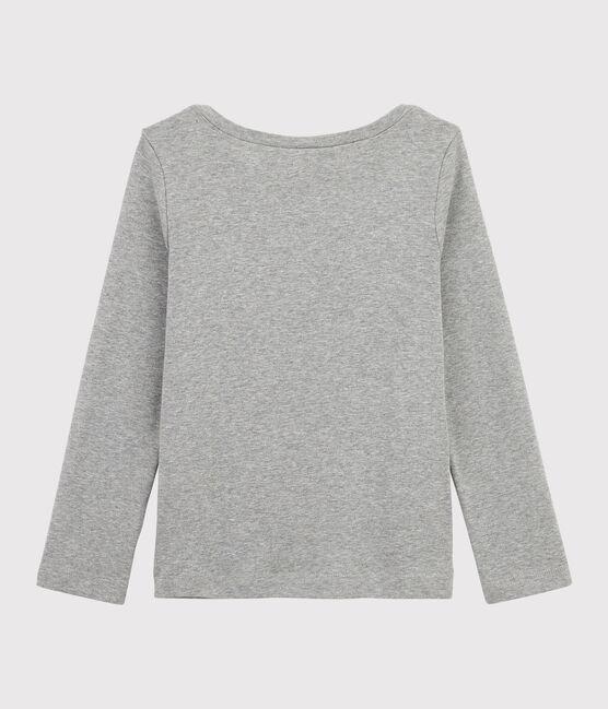 Tee-shirt manches longues gris Subway