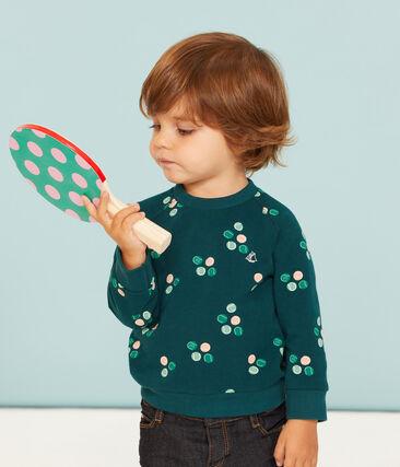 Sweatshirt bébé garçon en molleton imprimé