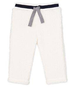 Pantalon bébé mixte en sherpa