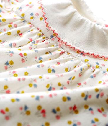 Robe body imprimée bébé fille