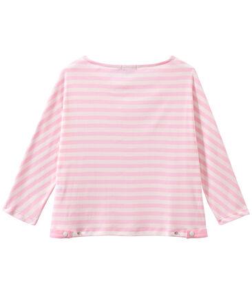 T-shirt femme manches 3/4 rayé