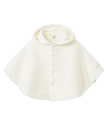 Cape réversible en tubique bébé mixte