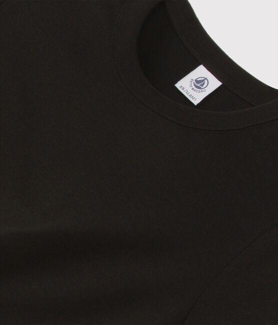 T-shirt iconique col rond Femme noir Noir