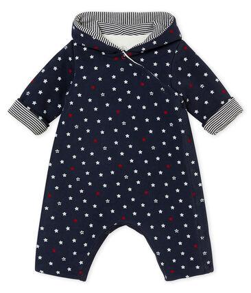Combinaison longue bébé garçon imprimée d'étoiles