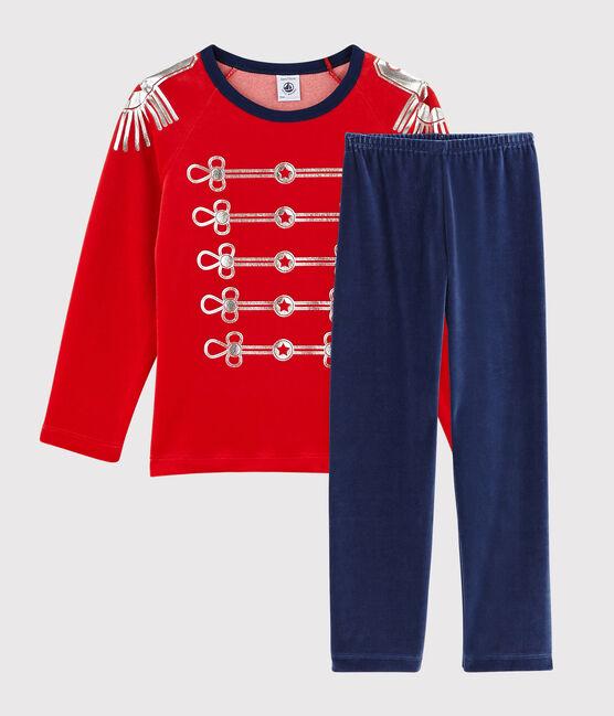 Pyjama déguisement en velours petit garçon MEDIEVAL/FROUFROU