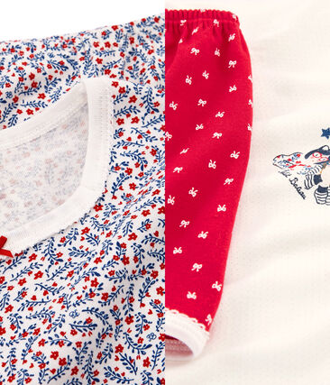 Lot de 2 pyjamas fille