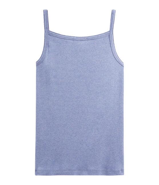 Chemise à bretelles Femme bleu Captain Chine