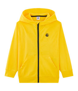 Sweat shirt enfant garçon jaune Shine