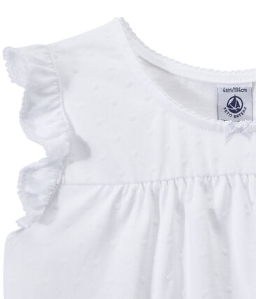 Pyjacourt petite fille en coton fin