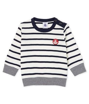 Tee shirt manches longues rayure marinière bébé garçon