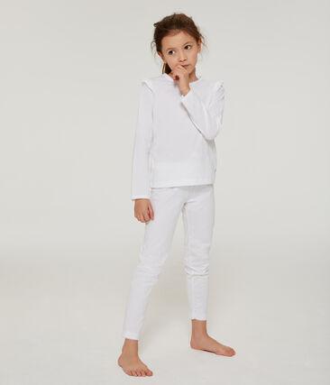 Pyjama petite fille en coton fin