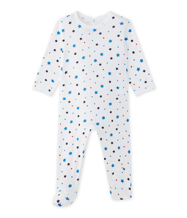 Dors bien bébé garçon à étoiles