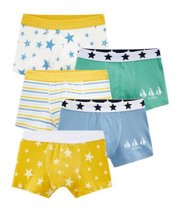 Lot de 5 boxers petit garçon