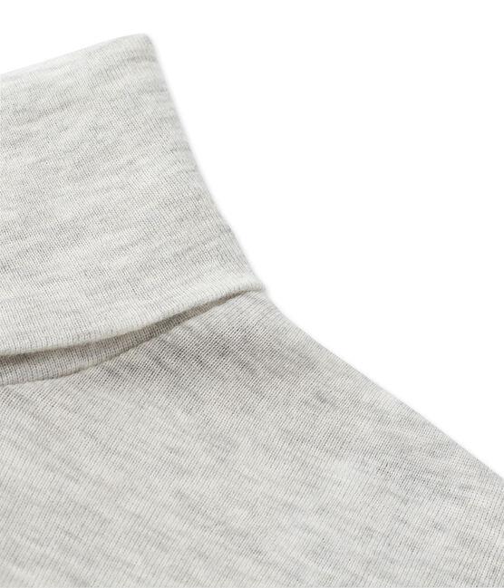 Sous pull femme en coton léger gris Beluga Chine