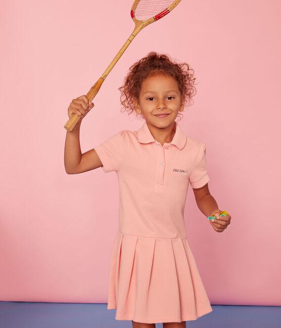 Robe enfant fille rose Rosako