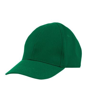 Casquette enfant mixte vert Ecology
