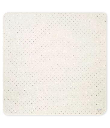 Lange bébé mixte en tubique imprimé blanc Marshmallow / noir Noir