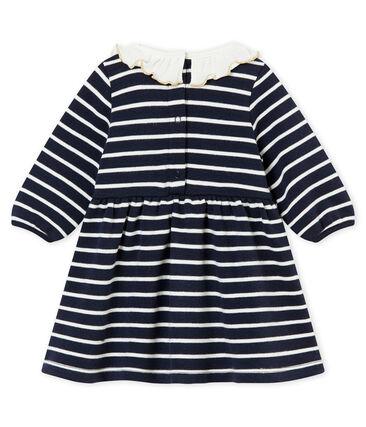 Robe rayure marinière bébé fille