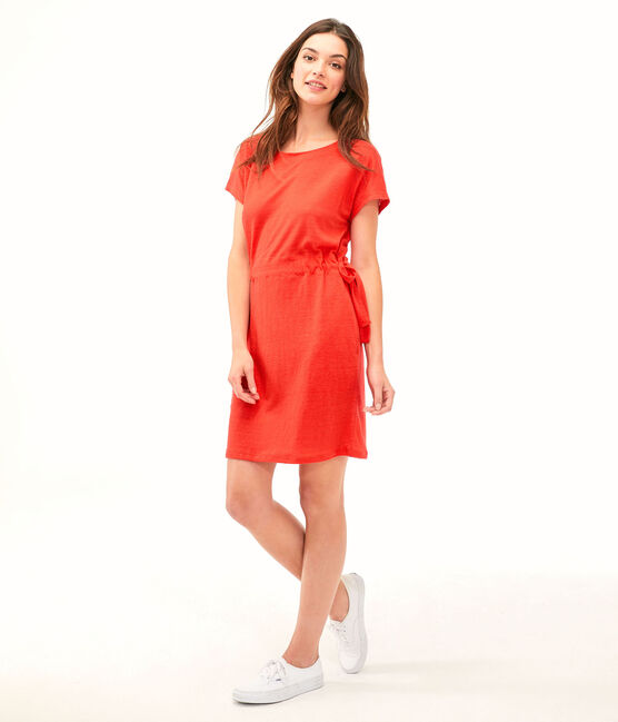 Robe femme rouge Peps