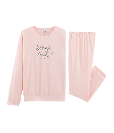 Pyjama fille en bouclette éponge grattée extra chaude