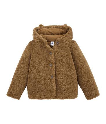 Manteau enfant fille en sherpa