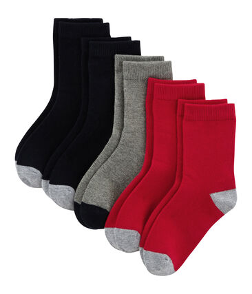 Lot de 5 paires de chaussettes enfant garçon